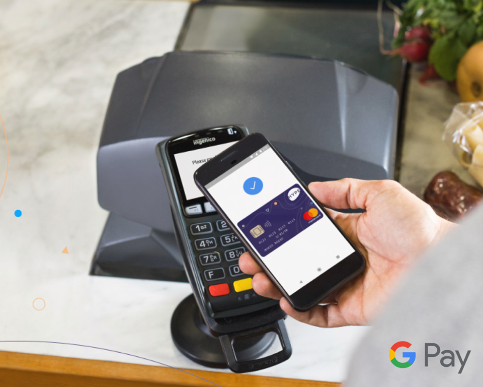 Hype e Google Pay