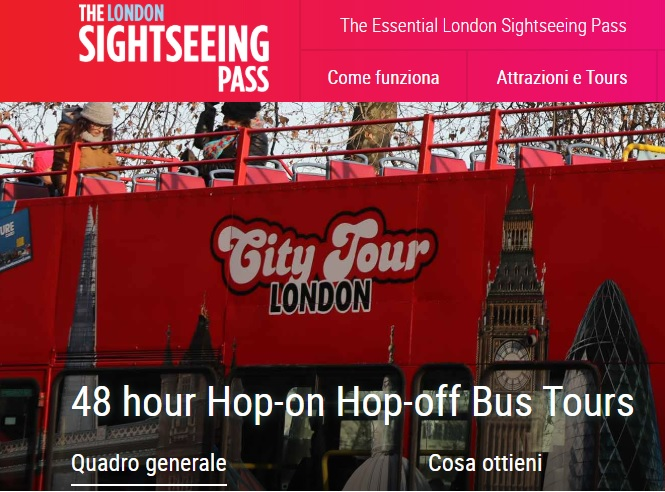 Sightseeing pass london